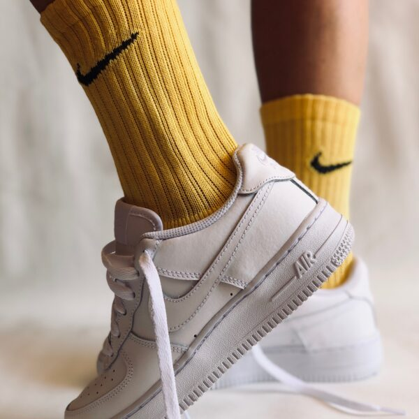 SOCKS PALE YELLOW